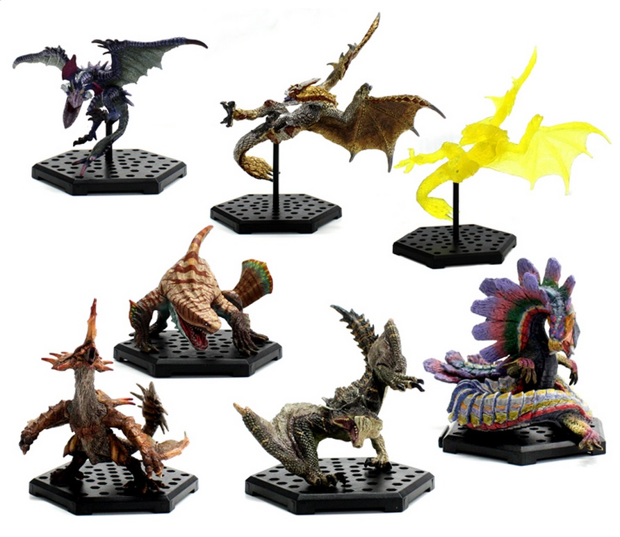 monster hunter sammelfiguren