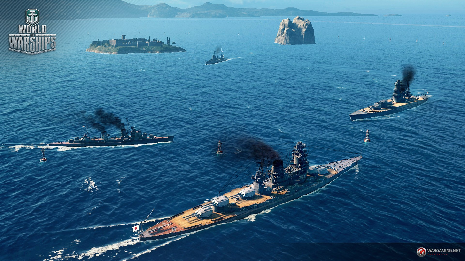 World of Warships World of Warplanes