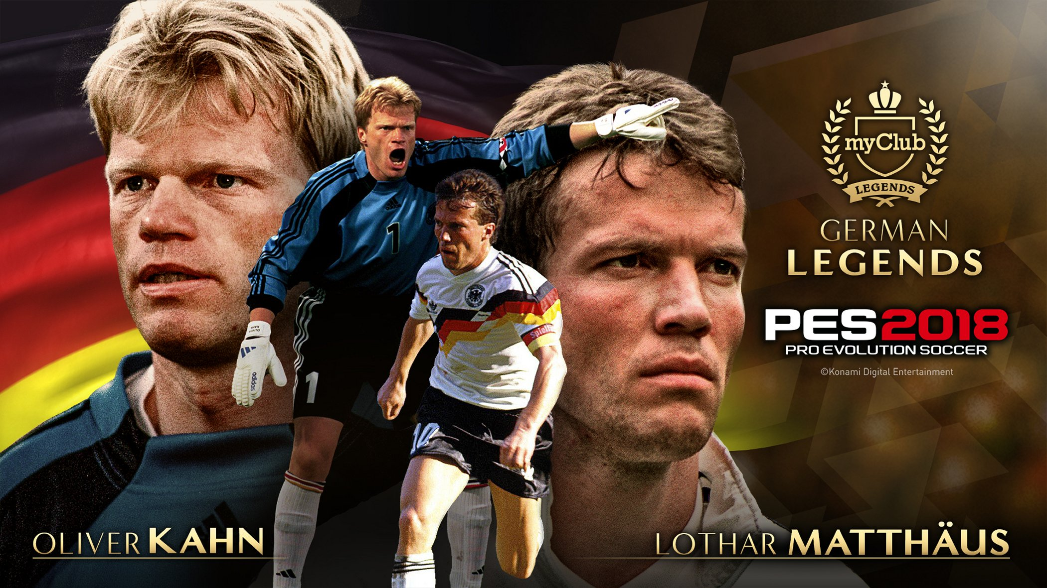 PES2018 GERMAN Legends KAHN MATTH US PhotoVisual