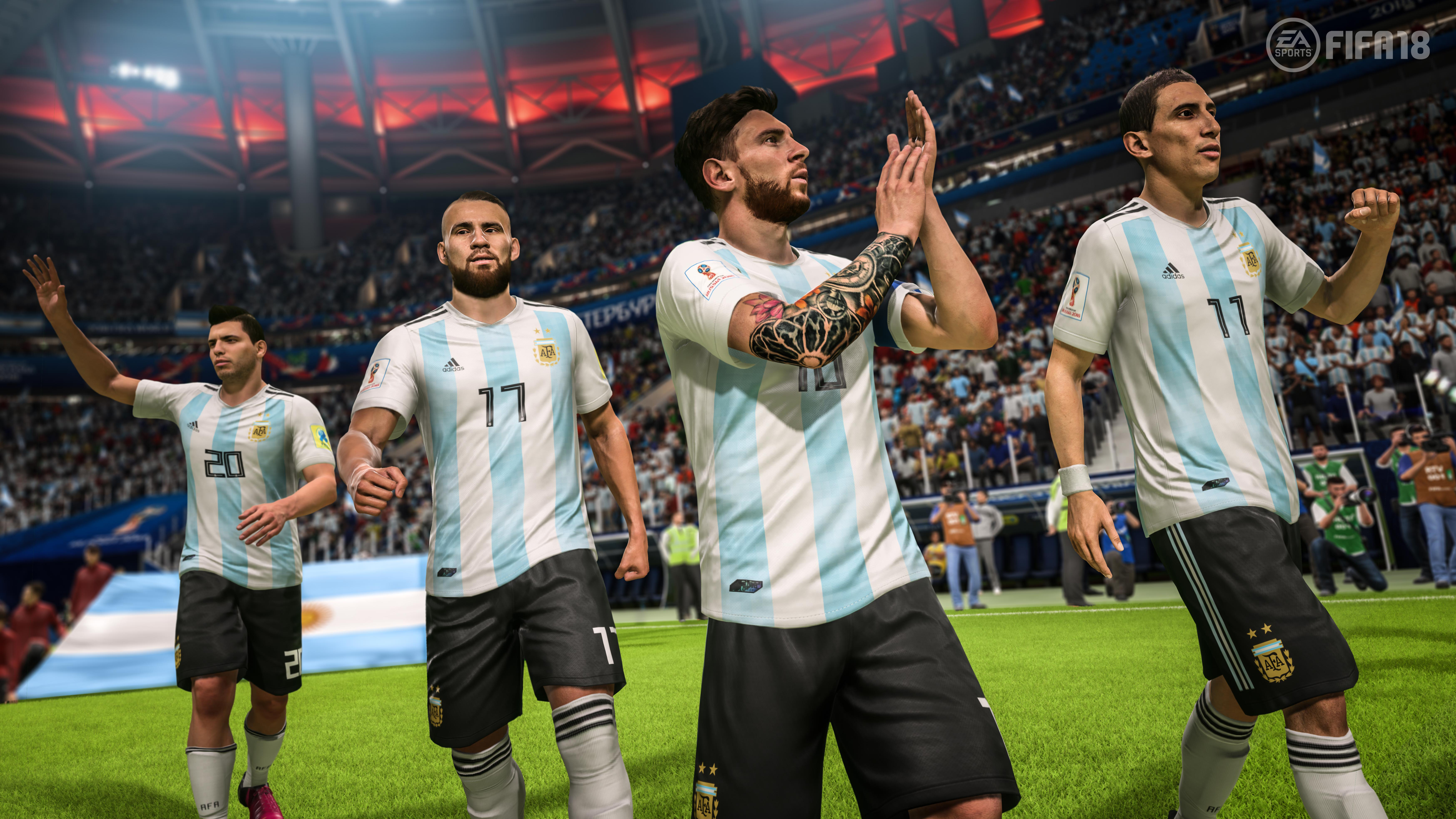 FIFA 18 World Cup Update 2
