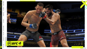 UFC4 1P STOREFRONT MASVIDAL DIAZ CLINCH 3840x2160 FINAL wOverlay
